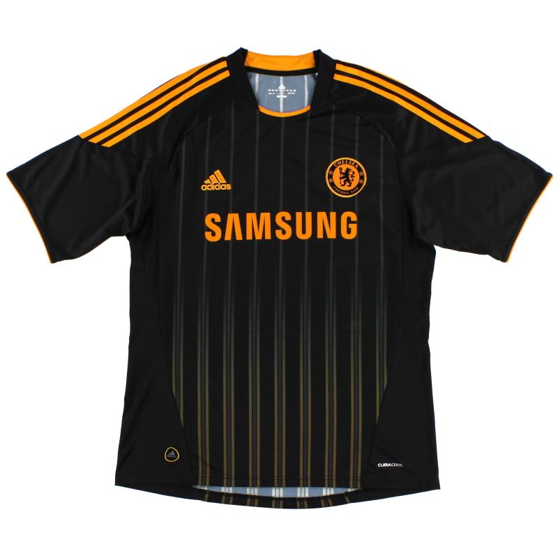 2010-11 Chelsea Player Issue TechFit Away Shirt *Mint* XL - P00191