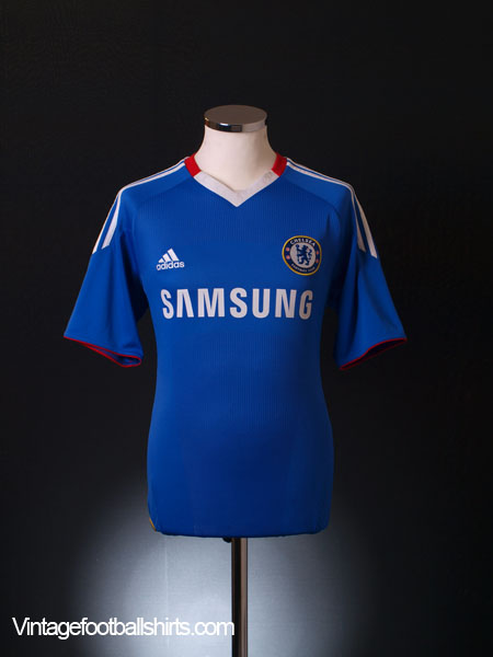 2010-11 Chelsea TechFit Player Issue Home Shirt *Mint* M