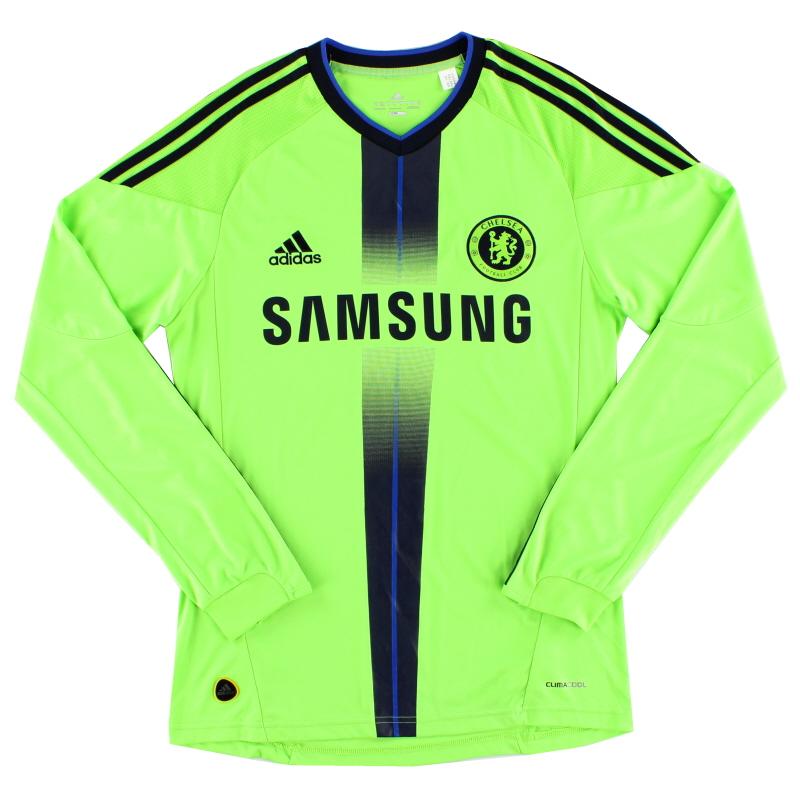 2010-11 Chelsea Third Shirt L/S S