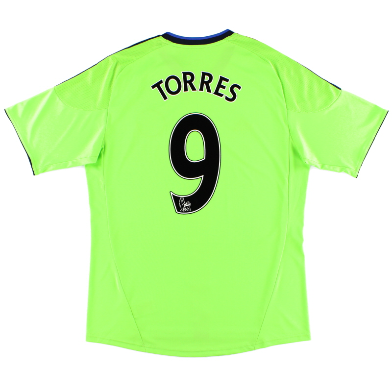2010-11 Chelsea Third Shirt Torres #9 L - P00189