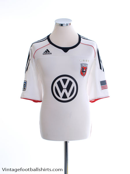 2010-11 DC United 'Formotion' Away Shirt XL