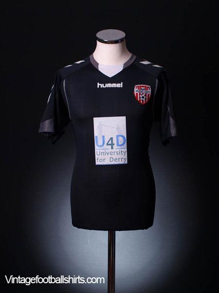 2010-11 Derry City Away Shirt *Mint* M