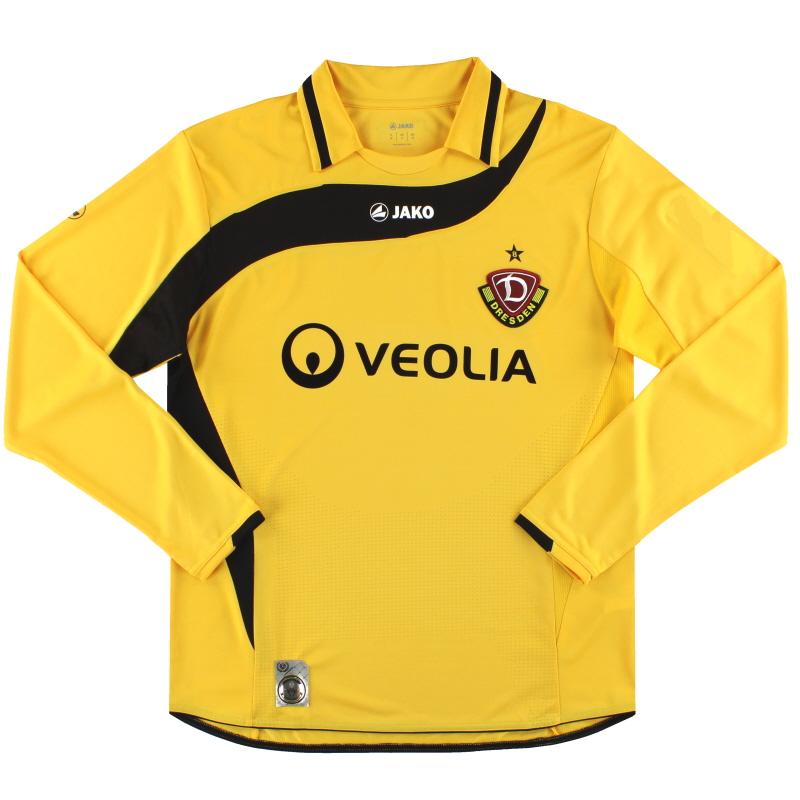 2010-11 Dynamo Dresden Jako Home Shirt L/S L