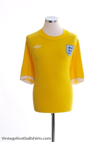 2010-11 England Goalkeeper Shirt XXL