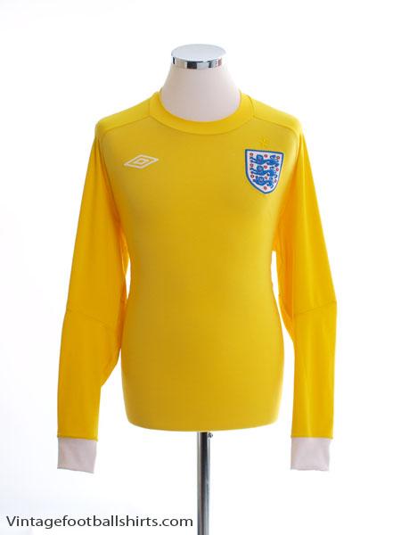 2010-11 England Goalkeeper Shirt L