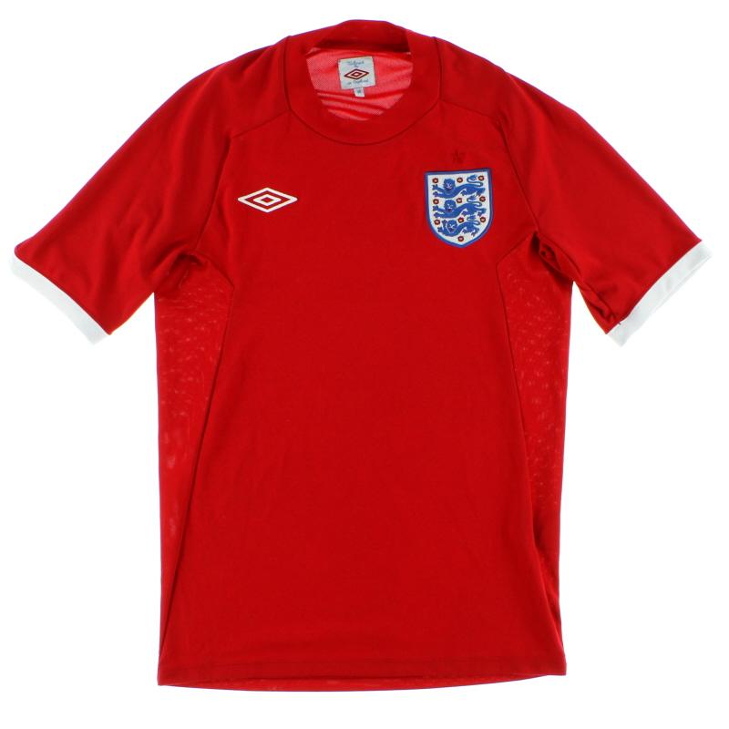 2010-11 England Umbro Away Shirt L