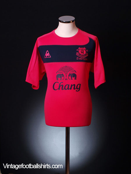 2010-11 Everton Away Shirt XXL