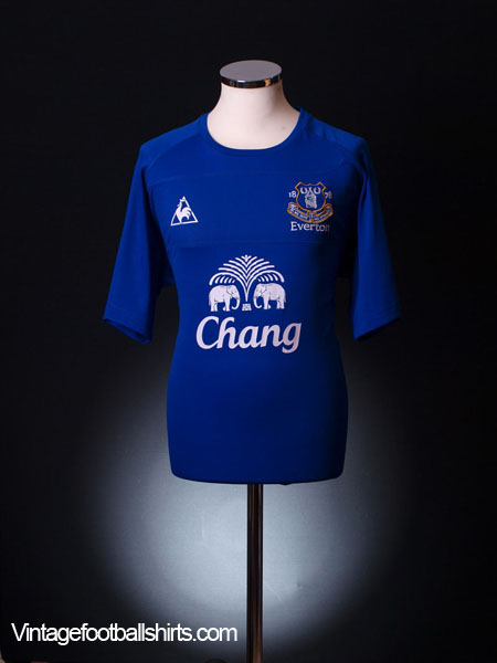 2010-11 Everton Home Shirt M