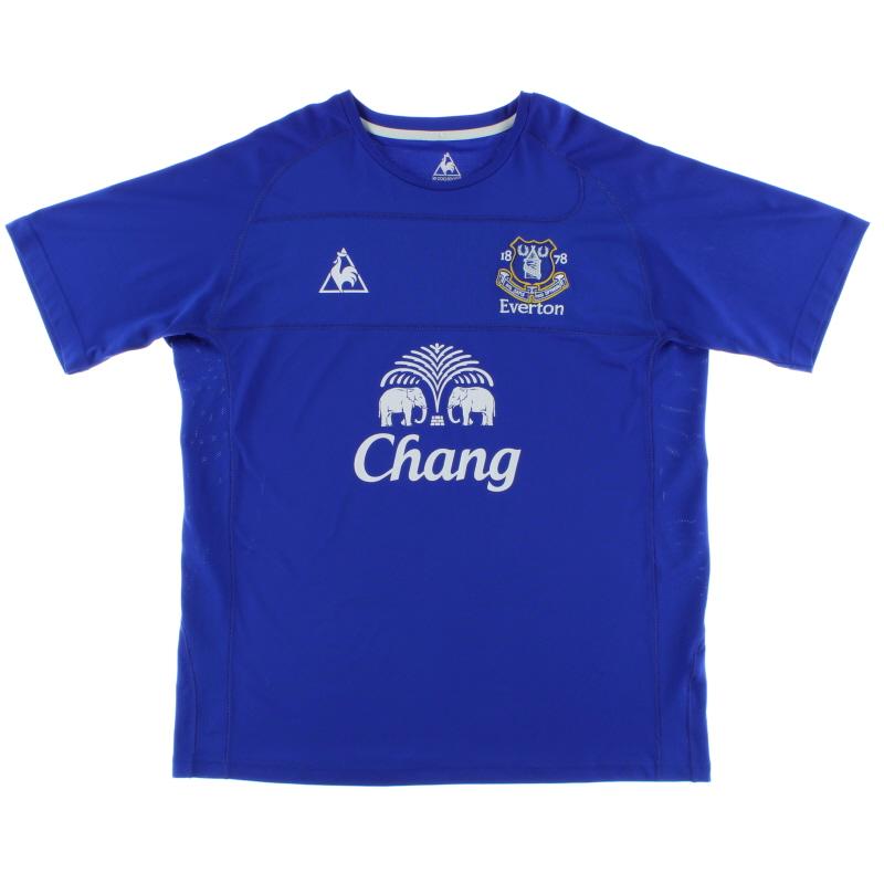 2010-11 Everton Home Shirt XL