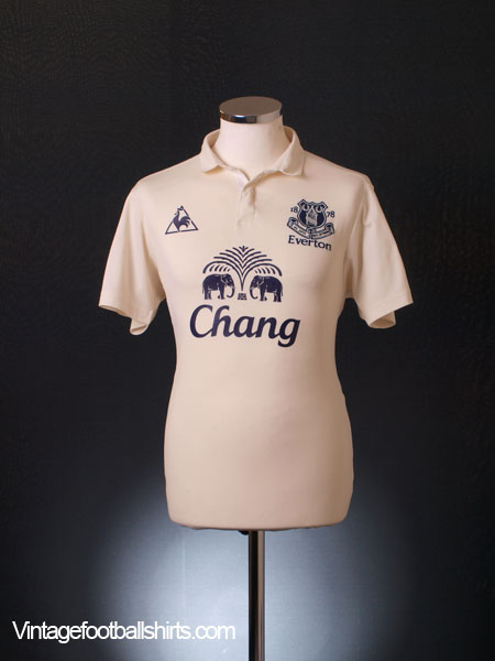 2010-11 Everton Third Shirt S