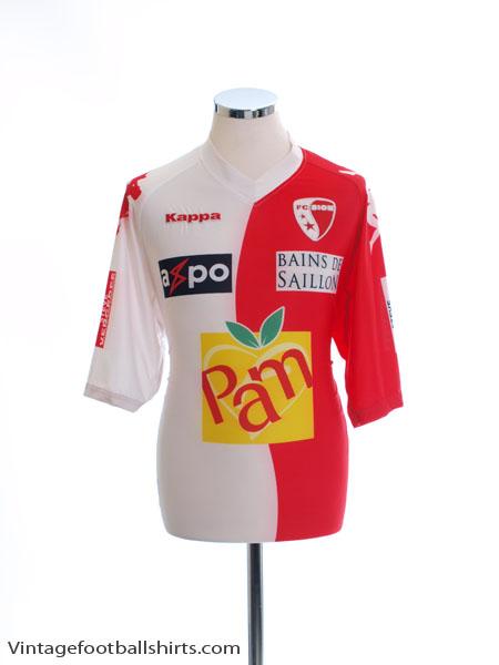 2010-11 FC Sion Home Shirt XXL