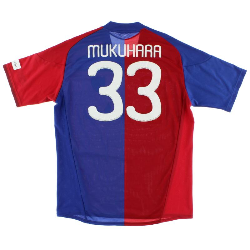 2010-11 FC Tokyo Match Issue Home Shirt Mukuhara #33 XL - P63019