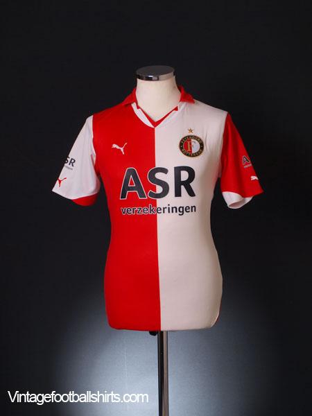 2010-11 Feyenoord Home Shirt S