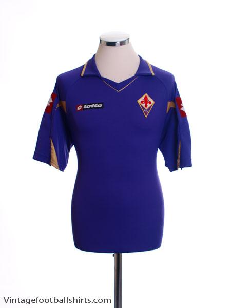 2010-11 Fiorentina Home Shirt M