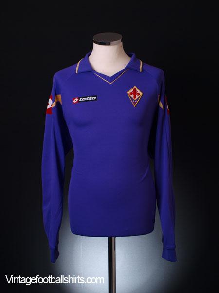 2010-11 Fiorentina Home Shirt L/S L