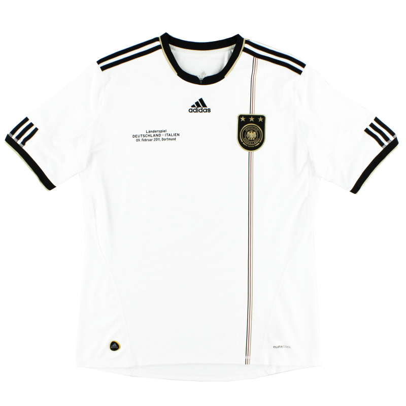 2010-11 Germany Home Shirt 'Deutschland - Italien' XL