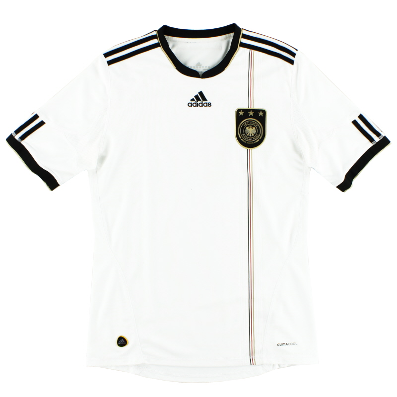 2010-11 Germany Home Shirt Y - P41477