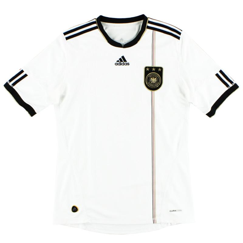 2010-11 Germany adidas Home Shirt Y