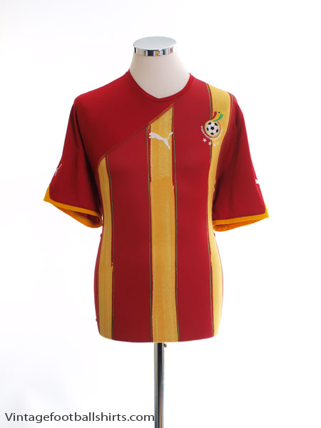 2010-11 Ghana Away Shirt XL