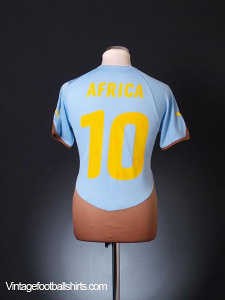 2010-11 Ghana Third Shirt Africa #10 S