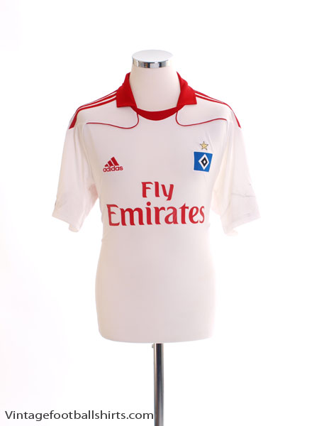 2010-11 Hamburg Home Shirt M