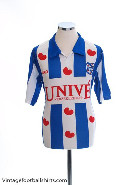 2010-11 Heerenveen Player Issue Home Shirt #44 L