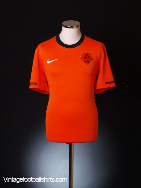 2010-11 Holland Home Shirt *Mint* XL