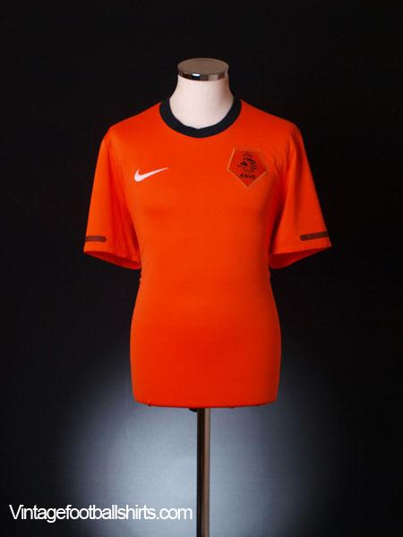 2010-11 Holland Home Shirt XL