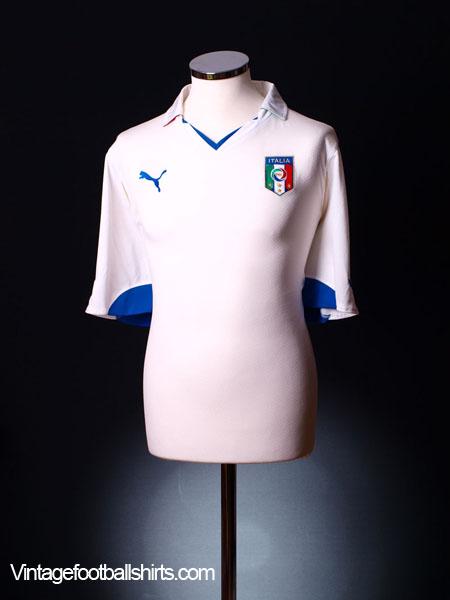 2010-11 Italy Away Shirt XXL
