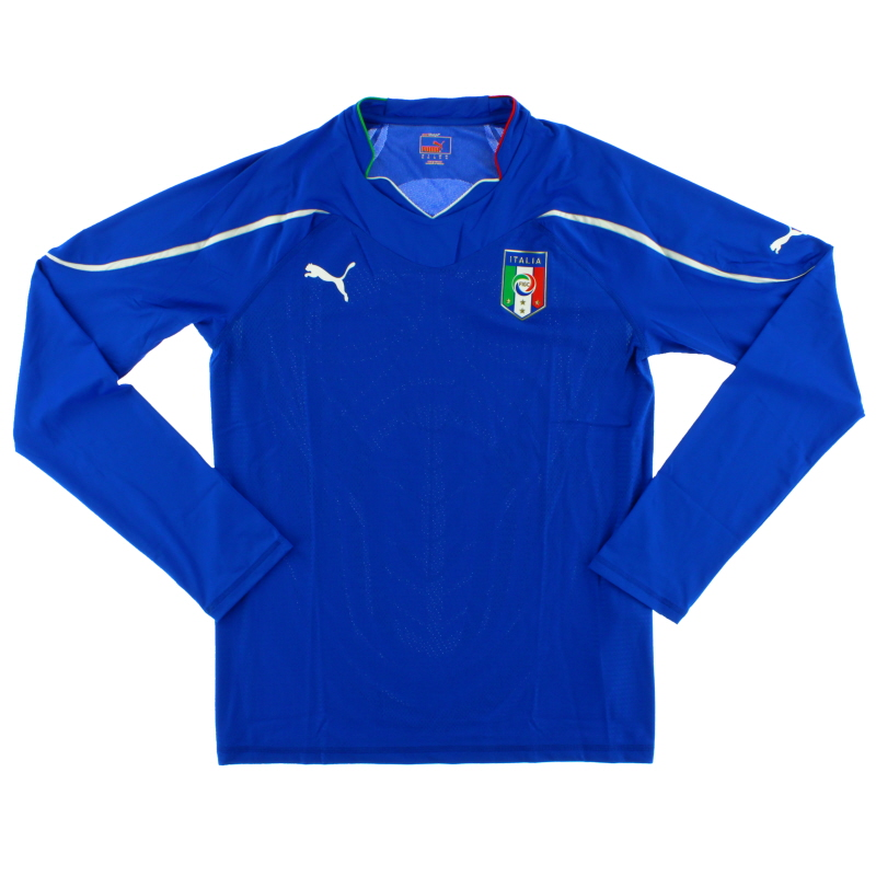 2010-11 Italy Home Shirt L/S *BNIB* XL - 736598 01