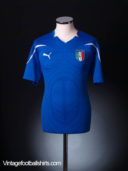 2010-11 Italy Home Shirt S