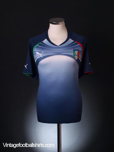 2010-11 Italy Training Shirt L