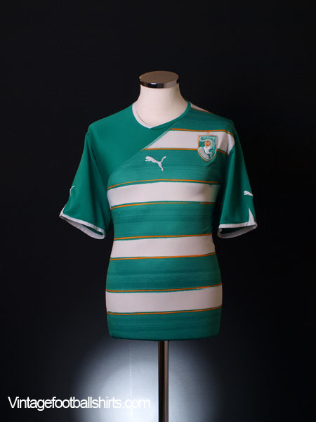 2010-11 Ivory Coast Away Shirt XL