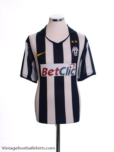 2010-11 Juventus Home Shirt L