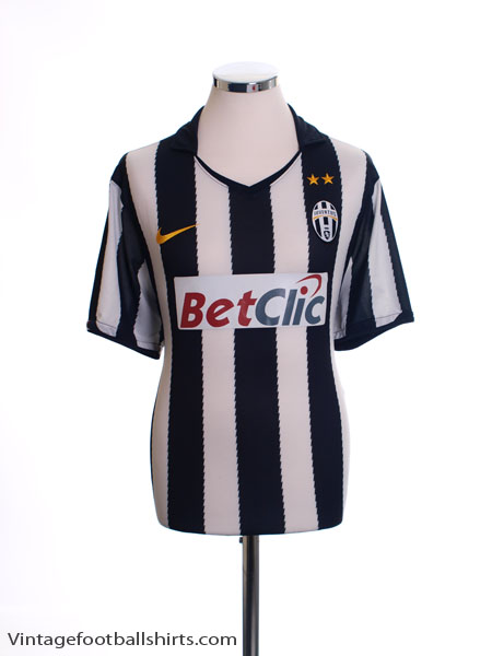 2010-11 Juventus Home Shirt M