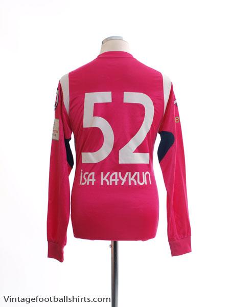 2010-11 Kasimpasa Match Issue Third Shirt Isa Kaykun #52 L/S M