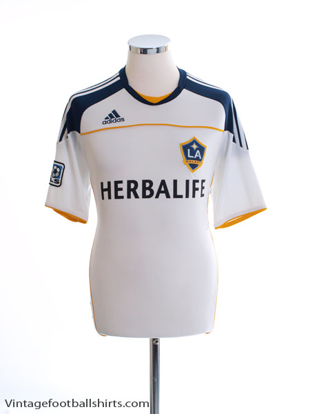 2010-11 LA Galaxy Home Shirt S