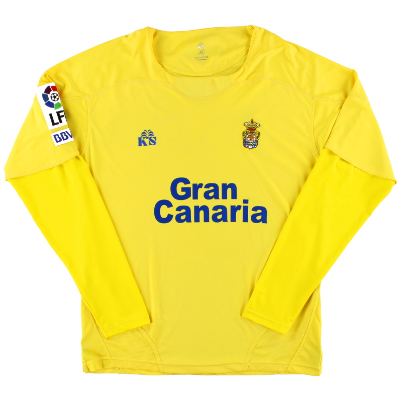 2010-11 Las Palmas Home Shirt L/S XL