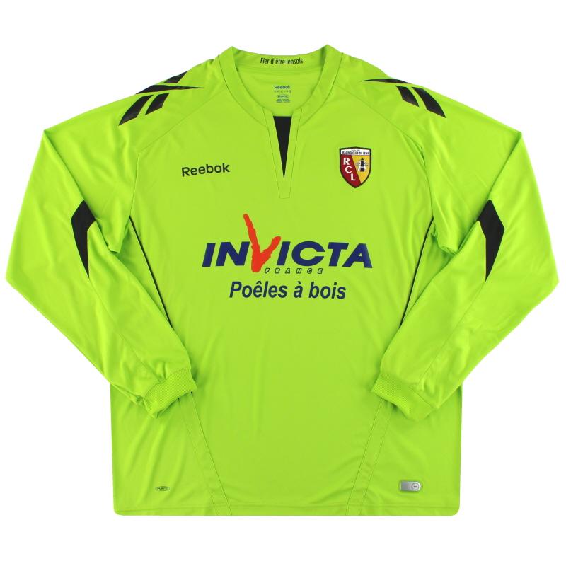 2010-11 Lens Reebok Goalkeeper Shirt XL