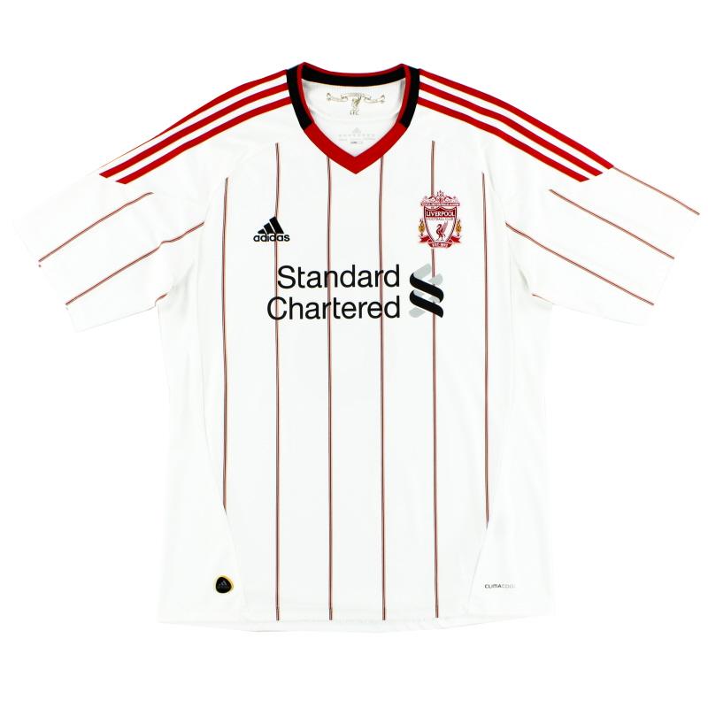 2010-11 Liverpool adidas Away Shirt XL - P96744