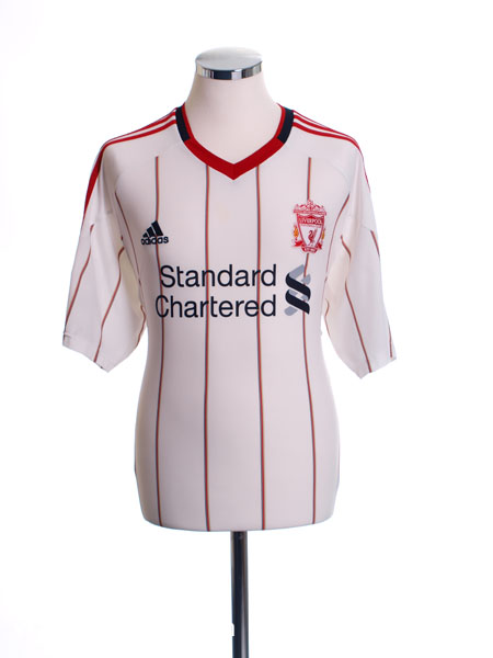 2010-11 Liverpool Away Shirt *Mint* S