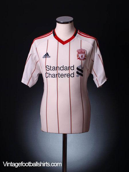 2010-11 Liverpool Away Shirt L