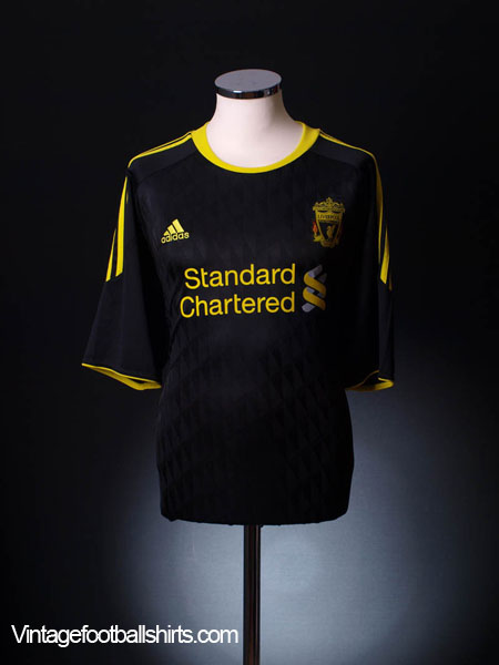2010-11 Liverpool Third Shirt S