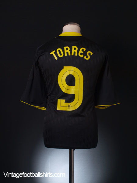2010-11 Liverpool Third Shirt Torres #9 XL