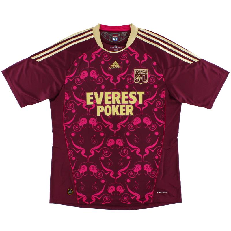 2010-11 Lyon adidas Away Shirt *Mint* XL - P00325