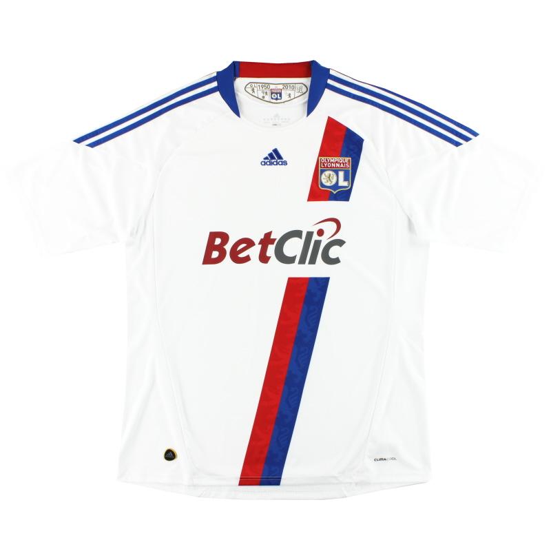 2010-11 Lyon adidas Home Shirt XL - P00333
