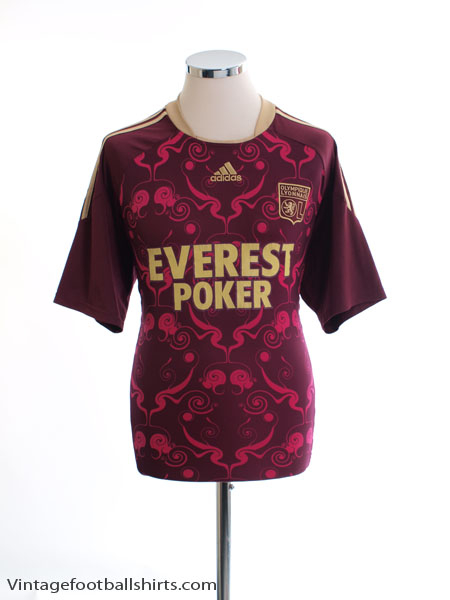 2010-11 Lyon Away Shirt M