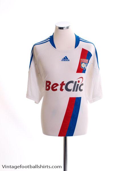 2010-11 Lyon Home Shirt XL