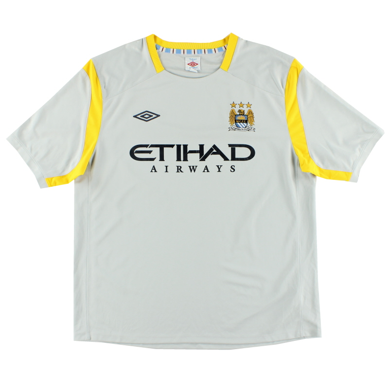 2010-11 Manchester City Training Shirt XXL
