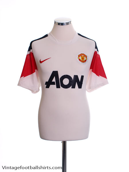 2010-11 Manchester United Away Shirt L - 382470-105